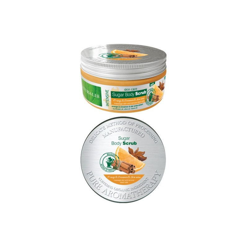 Scrub de corp Naturalis Orange & Cinnamon & Star anise