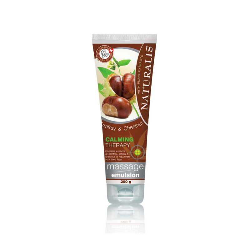 Gel de masaj Naturalis Comfrey & Chestnut 200ml