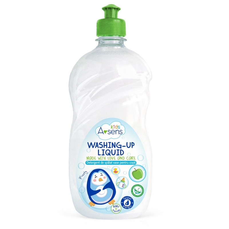 "Detergent de spalat vase pentru copii A-SENS KIDS ""Mar"""